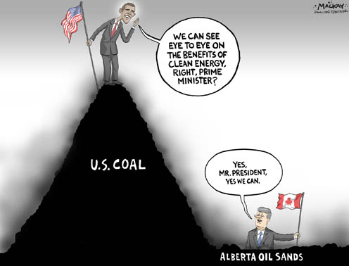 how to reduce climate change from oil sands